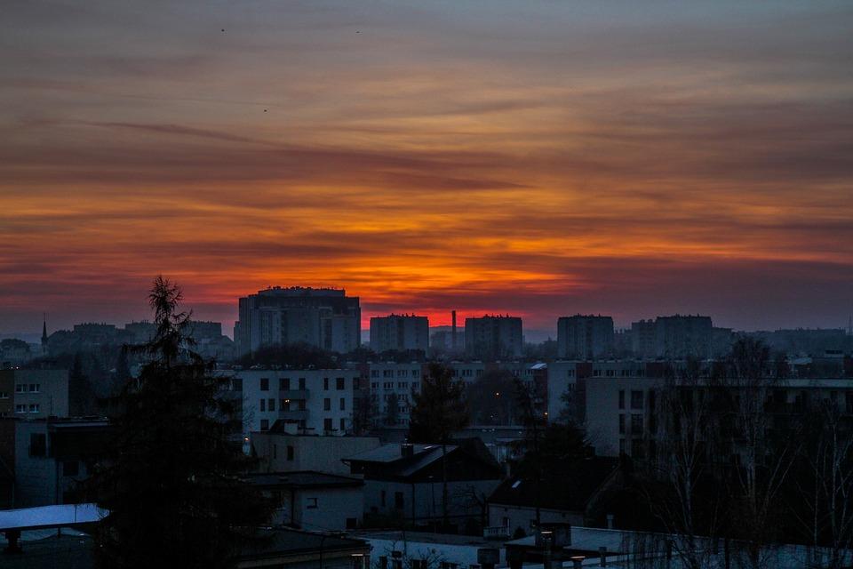Kraków - widok miasta